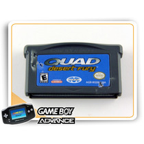 Gba Quad Desert Fury Original Game Boy Advance