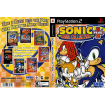 Sonic Mega Collections Plus - Playstation 2 - Frete Gratis.
