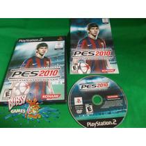 Pes 2010 Para Playstation 2, Ps2