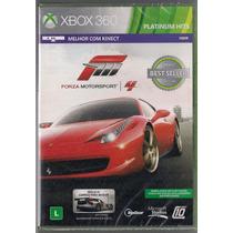 Forza Motorsport 4 - Compatível Com Kinect Xbox 360