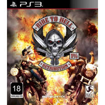Jogo Ride To Hell Ps3 Midia Fisica Moto Nota Fiscal