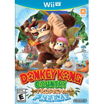 Jogo Wii U Donkey Kong Country Tropical Freeze 100% Original