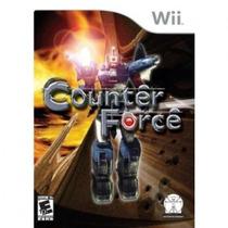 Jogo Nintendo Wii Counter Force Original Lacrado Frete 5,00