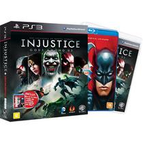 Game Ps3 Injustice: Gods Among Us - Edição Limitada Portuguê