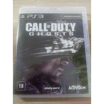 Call Of Duty Ghosts Totalmente Em Português Ps3 Novo Lacrado