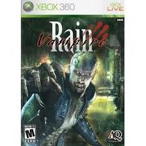 Jogo Xbox360 - Vampire Rain (eua/original/frete:r$5 Depósito