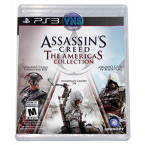 Assassins Creed The Americas Collection - 3 Jogos - Lacrado!