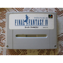 Final Fantasy 4 - Super Nintendo/famicon - Original Japonês