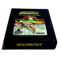 Breakout Original Atari 2600 Supergame Dactar Cce Dismac