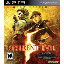 Resident Evil Gold Edition - Ps3 - Usado - Mídia Física
