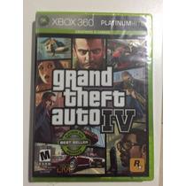 Gta 4 Grand Theft Auto Iv Xbox 360 Original - Pronta Entrega