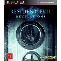 Resident Evil Revelations Ps3 Lacrado Original Leg Português