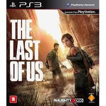 The Last Of Us Ps3 Duablado Português Lacrado - Frete 10,00