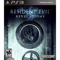 Jogo Ps3 - Resident Evil:revelations (leg Português/lacrado)