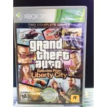Jogo Gta Liberty City Xbox 360, Original, Novo, Lacrado