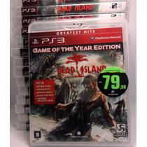 Dead Island Goty Ps3 Novo, Lacrado Rcr Games