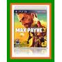 Max Payne 3 - Ps3 Lacrado