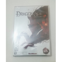 Dragon Age Origins - Pc Dvd - Novo - Lacrado