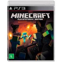 Minecraft Ps3 Em Português - Mídia Física