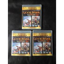 God Of War Collection 1 E 2 Gow Ps3 Original Novo Lacrado!!!
