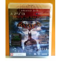 Jogo Batman Arkham Asylum - Ps3 - Lacrado Mídia Fisica
