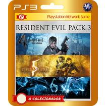Resident Evil 4 + 5 Gold + 6 Em Promoção!! (código Ps3)