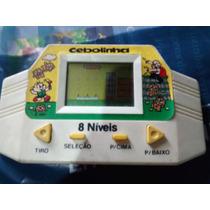 Mini Game Tec Toy Monica Cebolinha ~ Sega Game Boy Antigo