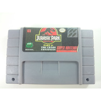 Jogo Super Nintendo Snes - Jurassic Park Part 2 The Chaos