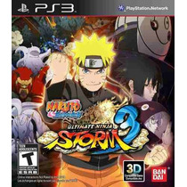 Naruto Ultimate Ninja Storm 3 - Ps3 - Americano