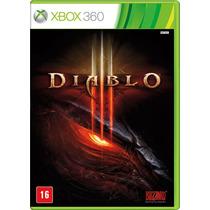 Jogo Diablo Iii Em Protuguês Br Ntsc Original Para Xbox 360