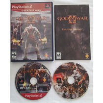God Of War 2 Playstation 2 Original Americano Ntsc Completo