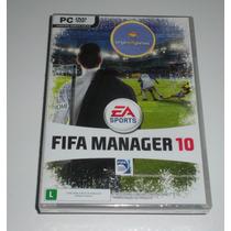 Fifa Manager 10 | Futebol | Jogo Pc | Produto Original