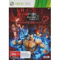Jogo Lacrado Fist Of The North Star: Kens Rage 2 Xbox 360