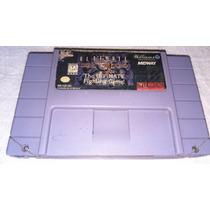 Ultimate Mortal Kombat 3 100% Original P/ Super Nintendo