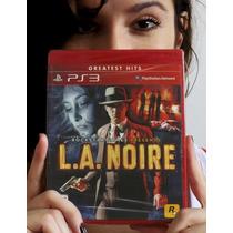L. A. Noire - Ps3. Lacrado De Fábrica. Pronta Entrega.