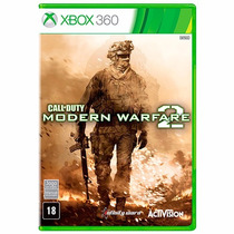 Call Of Duty Modern Warfare 2 Xbox 360 Mídia Original, Novo