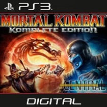 Mortal Kombat 9 Komplete Edition Ps3 Playstation 3 Completo