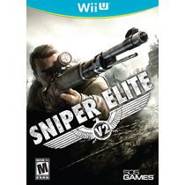 Sniper Elite V2 - Jogo Nintendo Wii U - Novo