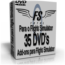 Fs Total Para O Flight Simulator -35 Dvd