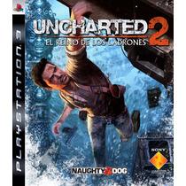 Uncharted 2 Ps3 Português Midia Fisica Novo Lacrado