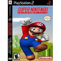 3000 Jogos De Super Nintendo No Seu Playstation 2
