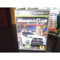 Xbox 360 - Midnight Club Los Angeles Complete Edition