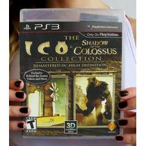 Ico & Shadow Of The Colossus - Ps3. Lacrado. Pronta Entrega