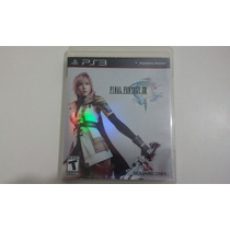 Final Fantasy Xiii 13 Ps3 Novo