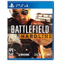 Battlefield Hardline Ps4 Português Play4 Novo Original