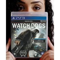 Watch_dogs - Ps3. Lacrado De Fábrica. Pronta Entrega.