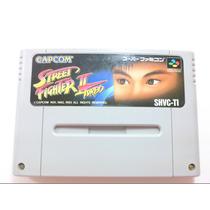 Cartucho Super Nintendo/famicom - Street Fighter 2 Turbo