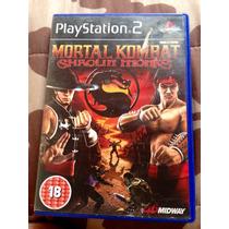 Cd De Play2 Original Mortal Kombat Shaolin Monks