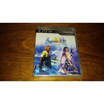 Final Fantasy X + X2 Hd Remaster Playstation 3 Game Jogo Ps3
