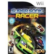 Super Sonic Racer Wii Usado Original Midia Fisica